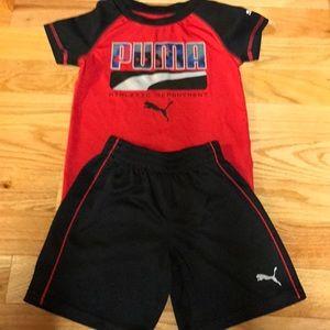 Boys Puma Short outfit